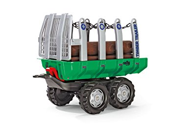 Rolly Toys Timber Trailer - David Rogers Toymaster