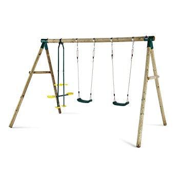 Plum Triple Swing Set - Jeiku Sales