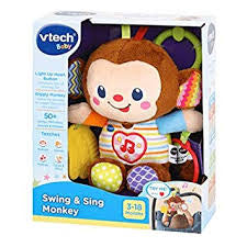 Vtech Baby Swing and Sing Monkey - David Rogers Toymaster