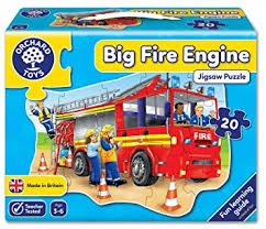 Orchard Toys Big Fire Engine - David Rogers Toymaster