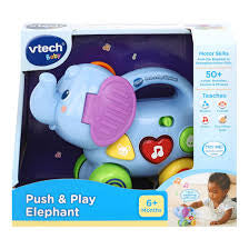 Vtech Baby Push and Play Elephant - David Rogers Toymaster