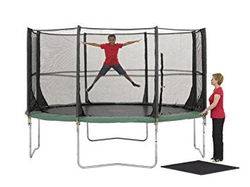 Plum 12FT Spacezone Trampoline with 3G Enclosure - David Rogers Toymaster