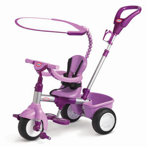Little Tikes 4 in 1 Trike Purple and Pink - David Rogers Toymaster