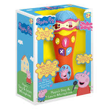 Peppa Pig Sing and Learn Microphone