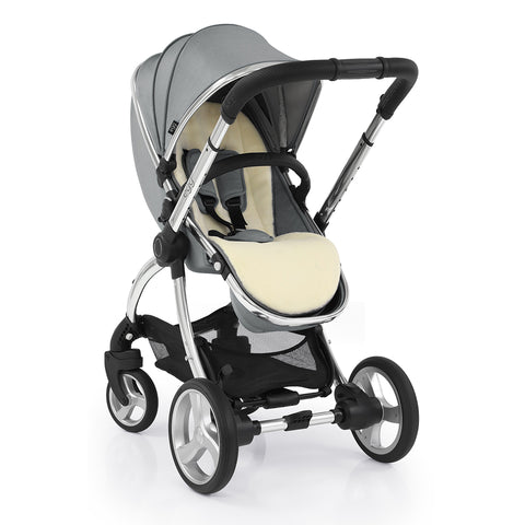 Egg2 Monument Grey Travel System with i Snug Car seat and Base