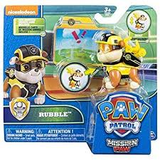 Paw Patrol Mission Paw Rubble - David Rogers Toymaster