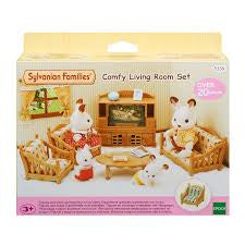 Sylvanian Families Comfy Living Room Set - David Rogers Toymaster