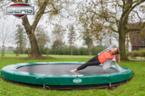 collect in store only Berg 14ft Inground Trampoline - David Rogers Toymaster