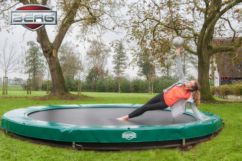 Berg 11FT Inground Trampoline Collect instore only - David Rogers Toymaster