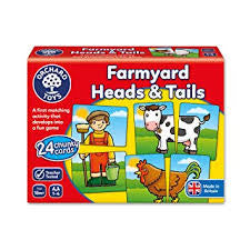 Orchard Toys Farmyard Heads and Tails