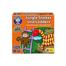 Orchard Toys Jungle Snakes and Ladders - David Rogers Toymaster