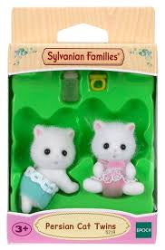 Sylvanian Families Persian Cat Twins - David Rogers Toymaster