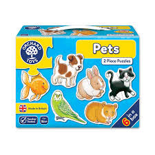 Orchard Toys Pets - David Rogers Toymaster