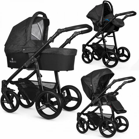Venicci All In One Travel System Denim Black - David Rogers Toymaster