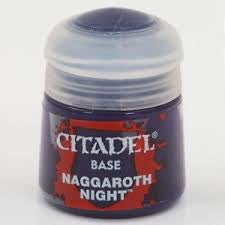 Warhammer Naggaroth Night Base Paint 21-05 - David Rogers Toymaster
