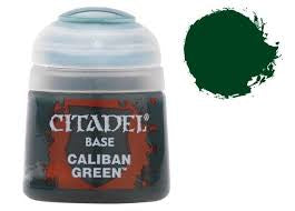 Warhammer Caliban Green Base Paint 21-12 - David Rogers Toymaster