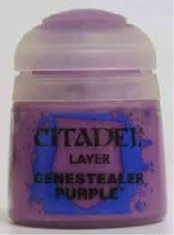 Warhammer Genestealer Purple Layer Paint 22-10 - David Rogers Toymaster
