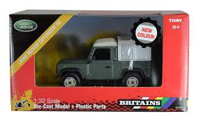 Britains 42732A1 Land Rover Green - David Rogers Toymaster