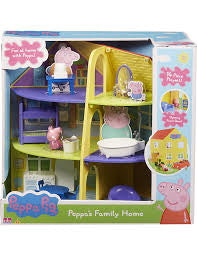 Peppa Pig Peppa's Family Home - David Rogers Toymaster