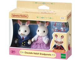 Sylvanian Families Chocolate Rabbit Grandparents - David Rogers Toymaster