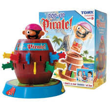 Pop Up Pirate - David Rogers Toymaster