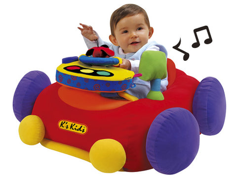 K's Kids Jumbo Go Go Go Play Mat Red - David Rogers Toymaster
