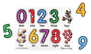 Melissa and Doug Numbers Peg Puzzle - David Rogers Toymaster