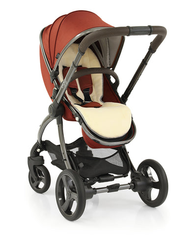 Egg2 Paprika Travel System with Joie i Snug Car seat and Base