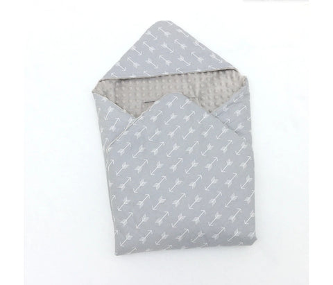 Little Love Blanket Grey arrows