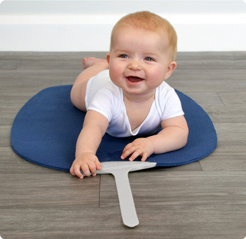 Shnuggle Baby Yoga Play Mat- Blue