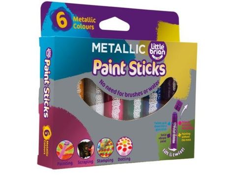Paint Sticks Classic 6 Metallic