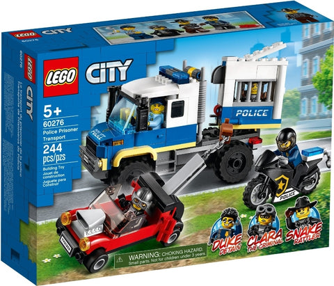 Lego City 60276 Police Prisoner Transporter 2021
