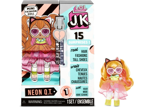 L.O.L Surprise J.K Mini Fashion Doll - Neon Q.T