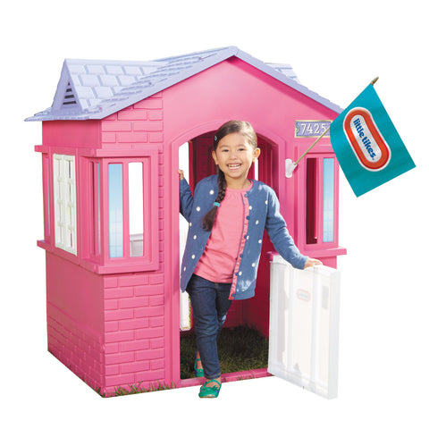 Little Tikes Cape Cottage - Kids Play House (Pink Finish) - David Rogers Toymaster