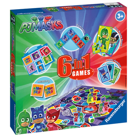 PJ Masks 6 in 1 Games