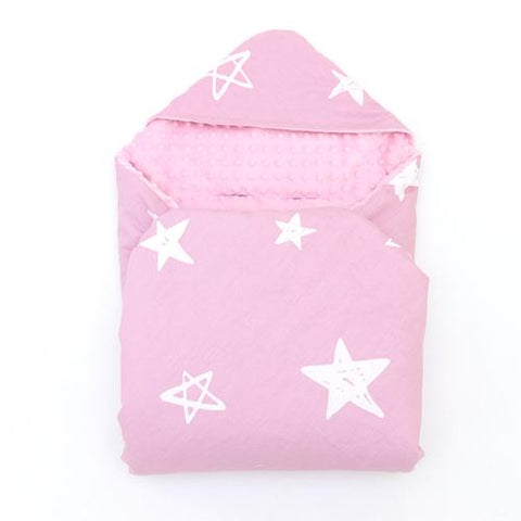Little Love Blanket Pink Star - David Rogers Toymaster