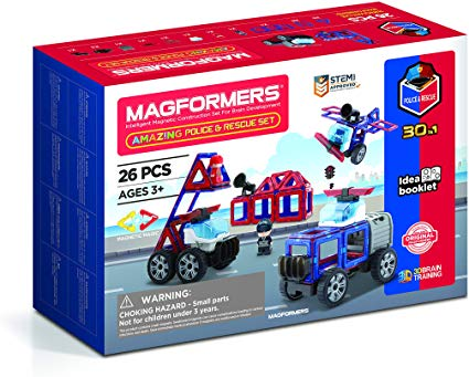 Magformers Police and Rescue Set - David Rogers Toymaster