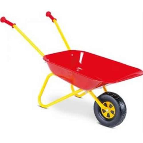 Rolly Metal Wheelbarrow - David Rogers Toymaster