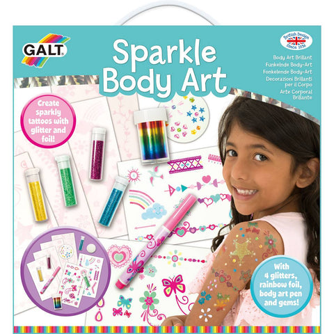 Galt Sparkle Body Art - David Rogers Toymaster