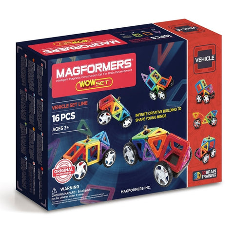 Magformers Vehicle Set Line - David Rogers Toymaster