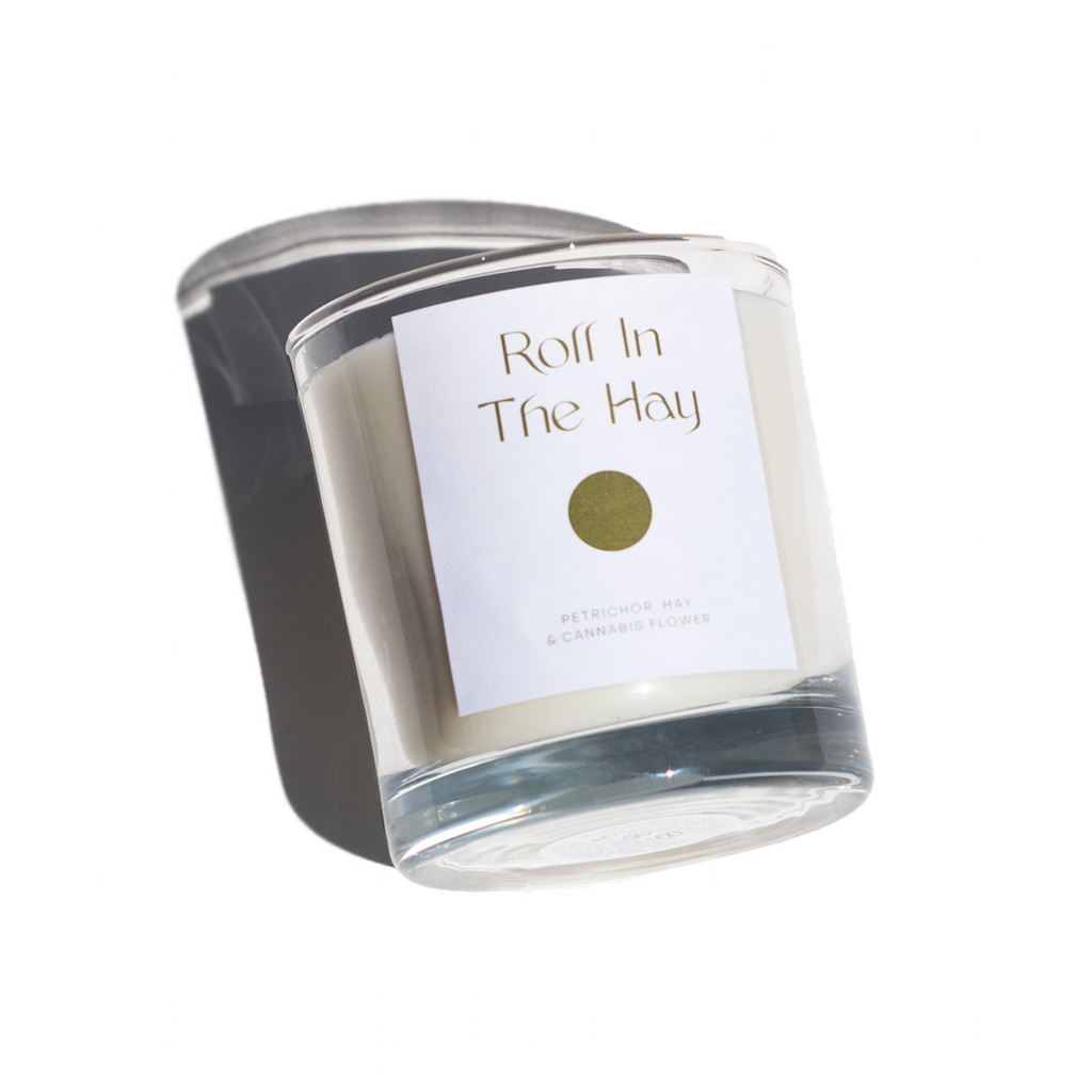 Roll In The Hay Candle | Petrichor, Hay & Cannabis Flower
