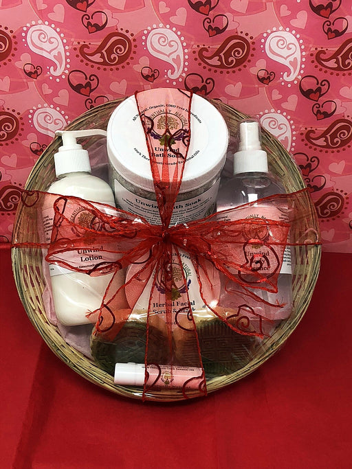 Valentine's Day Deluxe Luxury Spa Gift Basket