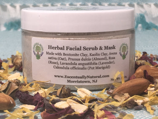 Herbal Facial Scrub & Mask