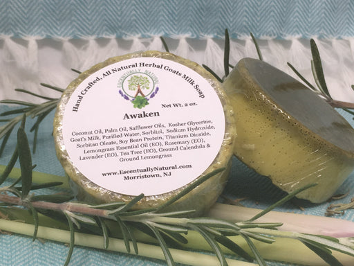 Awaken Herbal Goat Milk Soap