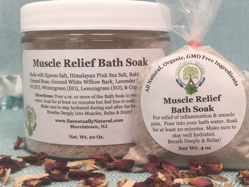 Muscle Relief Bath Soak