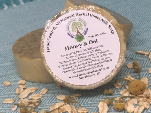 Honey & Oat Herbal Goat Milk Soap