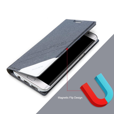 Samsung S8,S8 Plus, Note 8 Leather Wallet Case - godigita