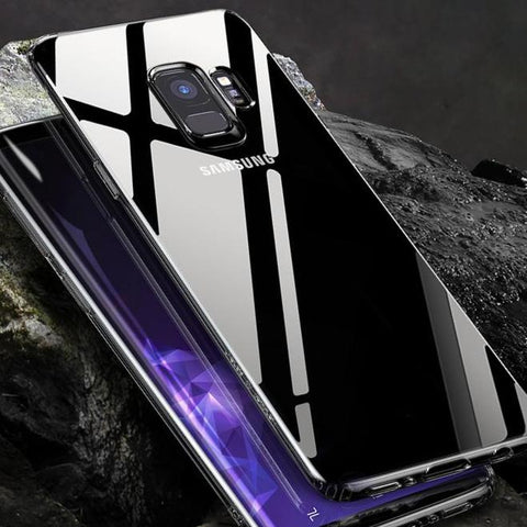 Slim Transparent Case For Samsung Galaxy S9 S9 Plus - godigita