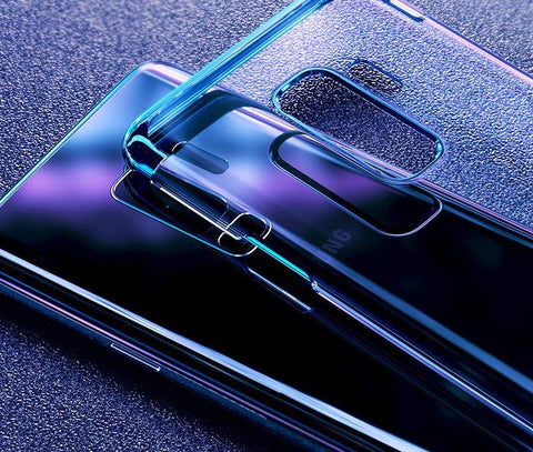 Samsung Galaxy S9, S9 Plus Luxury Plating Hard Plastic Case - godigita