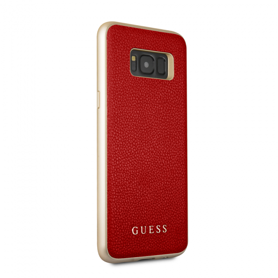 Guess Red Hard Phone Case for Samsung Galaxy S8 Plus